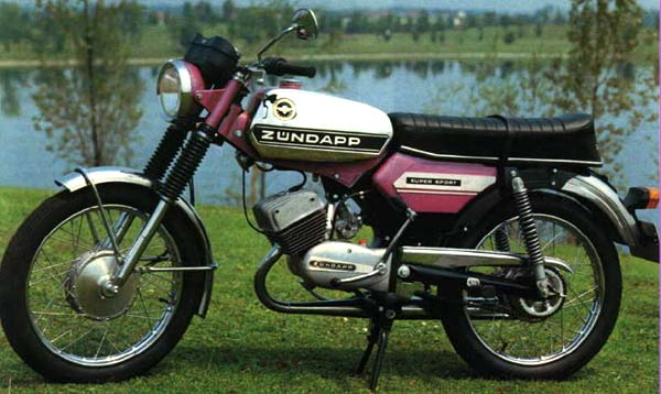 German zundapp mopeds